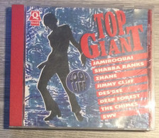 QUICK CD TOP GAINT (Case Damaged, CD Good) JAMIROQUAI SHABBA RANKS ZHANE JIMMY CLIFF DES'REE DEEP FOREST THE CHIMES SWV - Compilations