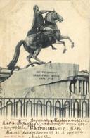 St Petersbourg Statue Pionnière  RV Beau Timbre Beaux Cachets - Russie