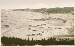 Cartolina - Asiago - Panorama Invernale Dal Monte Interrotto - 1920 Ca. - Vicenza
