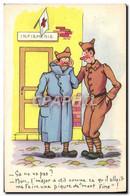 CPA Militaria Infirmerie - Humoristiques