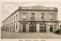 Cartolina - Albergo Industriale - Ristorante - Oristano - 1918 Ca. - Oristano