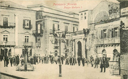 PALAZZOLO ACREIDE. Piazza Umberto I° 1908 - Siracusa