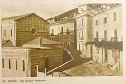 Cartolina - Aritzo ( Nuoro ) - Via Antonio Arangino - 1930 Ca. - Nuoro