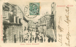 PALAZZOLO ACREIDE. Corso Vittorio Emanuele 1908 - Siracusa