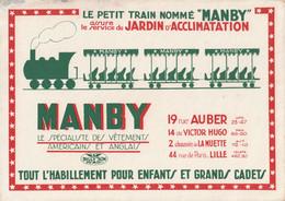 Le Petit Train Nomme  MANBY - Transport