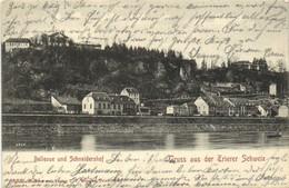 Bellevue Und Schneidershof Gruss Aus Der Trierer Schweiz  Pionnière RV - Trier