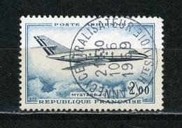 FRANCE -  POSTE AERIENNE - N° Yvert N° 42 Obli. Ronde De ANNECY CENTRALISATEUR De 1969 - 1960-.... Gebraucht