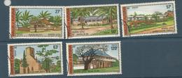 203/207  Bâtiments Et Monuments                                (claswallverpat) - Used Stamps