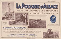 Potasse D Alsace Beau Grand Buvard 23.7 X 15.3 Cm - Landbouw
