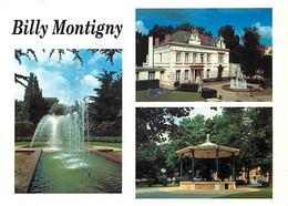 62 - Billy Montigny - Multivues - Jets D'eau - Kiosque - CPM - Voir Scans Recto-Verso - Other Municipalities