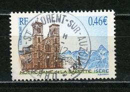 FRANCE - LA SALETTE - N° Yvert 3506 Obli. Ronde De St FLORENT SUR AUZONNET De 2002 - Gebraucht