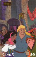 UNITED STATES - PREPAID - COMX - THEMATIC CARTOON - WALT DISNEY - HUNCHBACK NOTRE DAME - NO PIN - Unclassified
