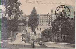 Le Havre Caserne Des Douanes Carte Postale Animee     1906 - Other