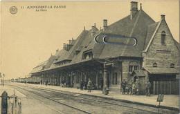 Adinkerke  (  De Panne )   :  La Gare - De Panne