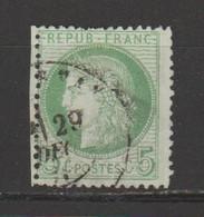 Cérès 5c Vert-jaune N°53 - 1871-1875 Ceres