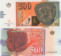 NORTH MACEDONIA       500 Denari       P-New       4.2020 (2021)       UNC - Macedonia