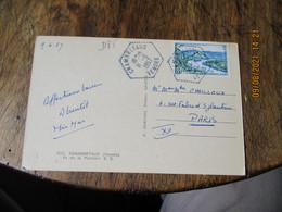 Chambretaud Recette Auxiliaire Cachet Hexagonal Obliteration Lettre - 1921-1960: Modern Period