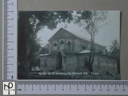 TIMOR - IGREJA DE STº ANTÓNIO DE MOTAEL -  DILÍ -   2 SCANS  - (Nº44344) - East Timor