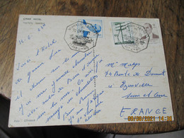Hotel Cinar Turquie Obliteration Lettre - Storia Postale