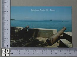 TIMOR - BATERIA DA COSTA -  DILÍ -   2 SCANS  - (Nº44345) - East Timor