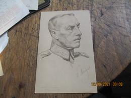 Portrait Von Menges Fuhrer 88 Infanterie Division Deutschland - Altri