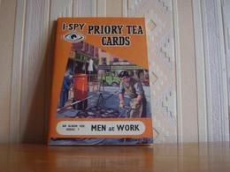 Album Chromos Images Vignettes I Spy Tea Série 7 Et 8 Les Ponts Et Les Hommes Au Travail - Sammelbilderalben & Katalogue