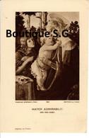 Image Pieuse Croyance Religion Mater Admirabilis Ora Pro Nobis Rene Auvray Cure De Saint Louis En L Ile 1940 Paroisse - Devotion Images