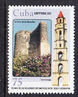 2012 Cuba Azerbaijan Links  Complete Set Of 1 MNH - Unused Stamps