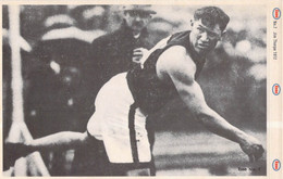 USA Card: James Francis Thorpe, USA Athletics, Two Olympic Gold Medals. The First Native American To Win A Gold - Athletics