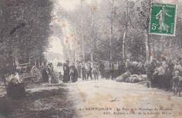 Carte Postale Saint Julien La Paye Et Le Mesurage Du Houblon - Autres Communes