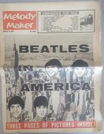 MELODY MAKER - 15/02/1964 - BEATLES - MUSIQUE - MUSIC - Unterhaltung