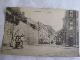 Ancien  Carte  Postale De  Huy  Statte  La  Rue  De   Statte - Huy