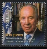 Israel  2017. Shimon Peres - The 9th President Of The State Of Israel (1923-2016) Famous People MNH - Ongebruikt (zonder Tabs)