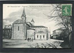 CPA - TESSON - Vue Générale De L'Eglise, Animé - Other Municipalities
