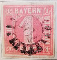 ALLEMAGNE Bavière _ 1849-50 Y&T N°4 Et N°2 Oblitérés - Bavaria