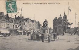 Le Neubourg.  Place Et Statue De Dupont De L'Eure - Le Neubourg