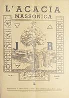 Rivista Illustrata Massoneria - L'Acacia N. 3 - Anno II - 1948 - Autres