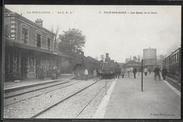 CPA 27 - Pacy-sur-Eure, Les Quais De La Gare - Trains - Pacy-sur-Eure