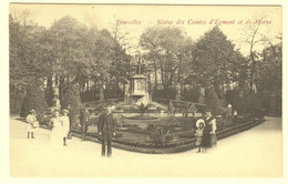 A0857[Postkaart] Bruxelles - Statue Des Comtes D'Egmont Et De Horne. (JFB) [Brussel Standbeeld Graven Graaf Van Hornes - Monuments, édifices