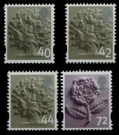 Großbritannien - England 2004-2006 - Mi-Nr. 10, 11 & 12-13 ** - MNH - 3 Ausgaben - Engeland
