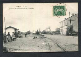 CPA - TESSON - La Gare (Chemins De Fer économiques Des Charentes), Animé - Other Municipalities