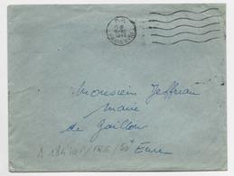 LETTRE MECANIQUE FRANCKERS P.P. 15.XII.1949 PARIS XVIII - Oblitérations Mécaniques (flammes)