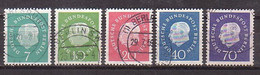 Berlin  182/86 , O  (R 1186) - Used Stamps