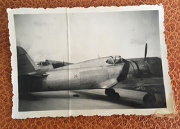 Rochefort Archives Aviateur Ecole Aviation Petite Photo Avion   Circa 1940 - Luchtvaart