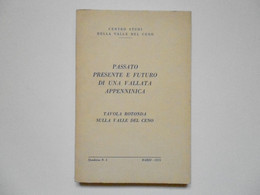 AA VV Passato Presente E Futuro Di Una Vallata Appenninica Bardi 1975 - Non Classificati