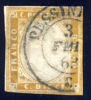 Sardegna Annulli - Pessinetto (p.13) Su 10 Cent. - Sardaigne