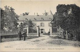 SAINT BENOIT DU SAULT Château De Chassingrimont - Other Municipalities