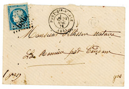 LOT ET GARONNE ENV 1871 PORT STE MARIE GC ET TYPE 17 - 1849-1876: Classic Period