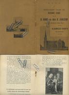 Antwerpen : Vlaamsch-hoofd : Bedevaart Naar De Nieuwe Kerk : H. Anna En Den H. Joachim : 22 Blz - Zonder Classificatie
