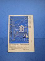 TEATRO-PESARO-IX FESTIVAL NAZIONALE D'ARTE DRAMMATICA DELL'ENAL-FG-1956 - Theatre